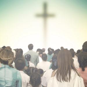 Christians prayed together